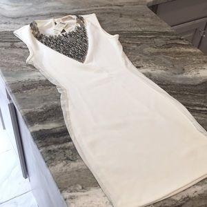 NWT Arden B Beaded Mesh Mini Dress 👗